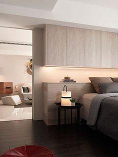 Modern Master Bedroom, Contemporary Bedroom, Modern Room, Home Bedroom, Bedroom Decor, Flat House Design, Home Office Design, Dressing Design, Fitted Bedroom Furniture