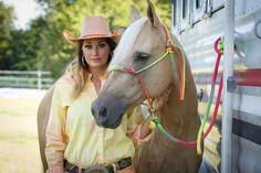 Fallon Taylor - photo by Cameron Gott Barrel Racing Horses, Barrel Horse, Cowgirl And Horse, Horse Girl, Horse Tack, Horse Stalls, Horse Barns, Pretty Horses, Beautiful Horses