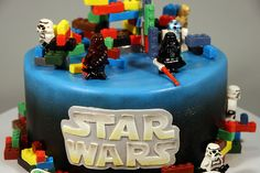 LEGO Star Wars 9th Birthday cake | Flickr - Photo Sharing!