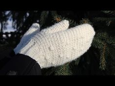 How to crochet mittens - video tutorial for beginners, My Crafts and DIY Projects
