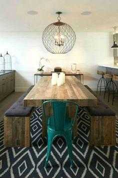 Un loft con pasión por la madera, ¡no os lo perdáis!