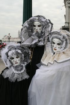 Carnival in Venice. At least, once in a  llife time