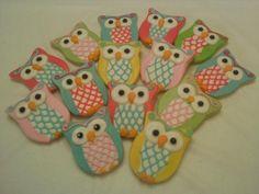 Owl cookies   http://kjcookies.weebly.com