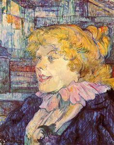 The Lady of the Star Harbour - Henri de Toulouse-Lautrec