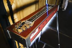 Tools of Robert Randolph's trade. KUSP Public Media, via Flickr. Photo Stephen Laufer