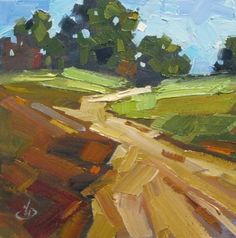 COLORFUL CONTEMPORARY PLEIN AIR PAINTING BY TOM BROWN, painting by artist Tom Brown