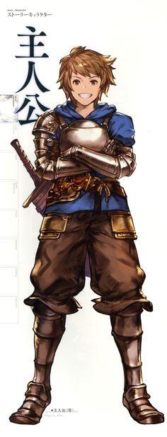Gran (Granblue Fantasy)/#1976027 - Zerochan Game Character, Character Concept, Character Design, Fantasy Armor, Medieval Fantasy, Dnd Characters, Fantasy Characters, Armor Concept, Concept Art