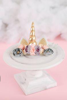Unicorn Ears, Unicorn Headband, Newborn Headbands, Elastic Headbands, Unicorn Costume, White Unicorn, Unicorn Birthday Parties, Special Occasion, Photo Props