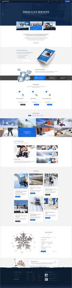 Landscaping is wonderful premium #Photoshop #template for landscape, construction and #snow removal service website download now➩ https://themeforest.net/item/landscaping-landscape-snow-removal-construction-psd-template/18837307?ref=Datasata
