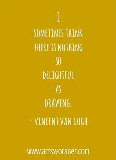 Vincent Van Gogh #quotes #artsywords