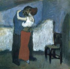 View After The Embrace, 1901 by Pablo Picasso on artnet. Browse more artworks Pablo Picasso from Vanita Fine Art Antiques, Inc. Pablo Picasso, Expo Picasso, Kunst Picasso, Art Picasso, Picasso Paintings, Spanish Painters, Spanish Artists, Kunsthistorisches Museum, Georges Braque