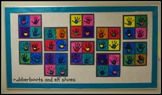 hands and hearts: an Andy Warhol art project