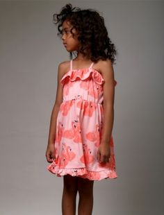 Buy Littlehorn Flamingo Ruffle Dress Ruffle Dress, Flamingo, Fancy, Summer Dresses, Stuff To Buy, Girls, Fashion, Flamingo Bird, Flowy Summer Dresses