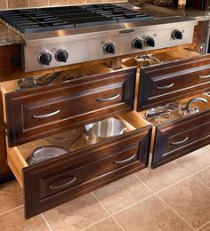Browse KraftMaid Kitchen Storage Solutions - Cooking