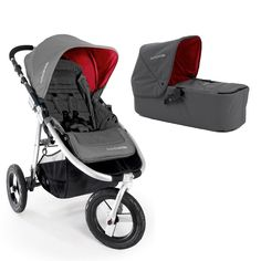 Bumbleride Indie Single Stroller with Carrycot