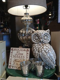 Owl saw at cracker barrel Owl Clock, Gray Owl, Owl City, Night Owl, Always Love You, Great Love, Close To My Heart, Owls, Decorating Your Home