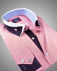 Fashion Shirts - Best Men's Designer Shirts in North America! High Collar Shirts, Shirt Collar Styles, Gents Shirts, Boys Shirts, Formal Shirts For Men, Casual Shirts, Indian Men Fashion, Mens Fashion, Mens Designer Shirts
