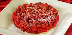 Red Velvet Funnel Cakes | Gold Medal