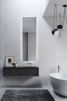 ONE by VALLONE Innovative body made of high-quality natural materials. Bathroom collection handmade in Italy vallone. Black Marble Bathroom, Marble Bathroom Accessories, Bathroom Furniture Design, Bathroom Design Luxury, Bath Design, Bad Inspiration, Bathroom Inspiration, Minimalist Bathroom, Modern Bathroom