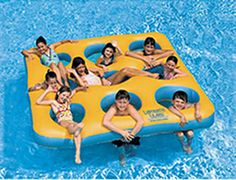 Swimline Labyrinth Island Inflatable Pool Float from Kohl's. Shop more products from Kohl's on Wanelo. Inflatable Island, Inflatable Pool Toys, Lake Rafts, Pool Rafts, Water Floaties, Pool Water, Lake Toys, Cool Pool Floats, Swimming Pool Toys