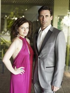 Jon Hamm & Elisabeth Moss - L.A. Confidential - Photoshoot - Don and Peggy Photo (16216002) - Fanpop