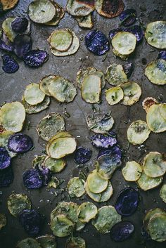 roasted baby potatoes for potato pizza by Beth Kirby | {local milk}, via Flickr