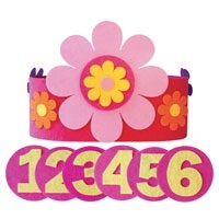 Verjaardagskroon bloemen