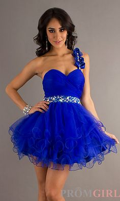 One Shoulder Party Dress . cute but i dont like the shoulder