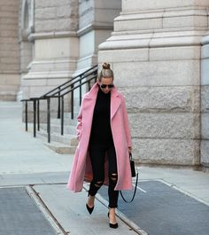 Outfit Ideas for Statement Coats | Pink Perfection