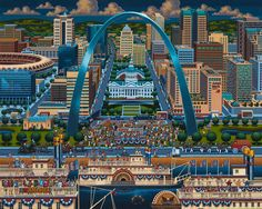 St Louis by Eric Dowdle