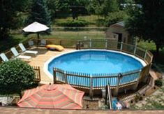 round above ground pool deck ideas   Articles Related to Affordable Above Ground Spa Deck Design Ideas