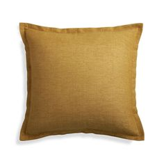 "Linden Gold 18"" Pillow Cover 