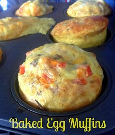 ... MUFFINS! on Pinterest | Egg muffins, Scrambled egg muffins and Eggs