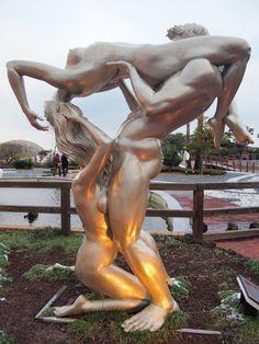 Loveland: Jeju Island's erotic sculpture park, South Korea, via Google images