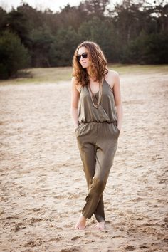 Get lost in paradise with this silk jumpsuit. Shop @ www.myfavouritemusthaves.com