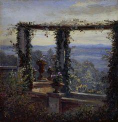 "Carl Gustav Carus - ""View in Hosterwitz"""