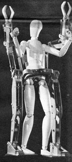 1965 71   G.E. Hardiman I Exoskeleton   Ralph Mosher (American)