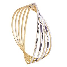 Never seen never worn...This bangle makes you stand out in the crowd.
