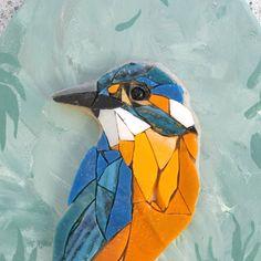 Mosaic Garden Art, Mosaic Tile Art, Mosaic Glass, Mosaic Animals, Mosaic Birds, Mosaic Art Projects, Mosaic Crafts, Mosaic Designs, Mosaic Patterns