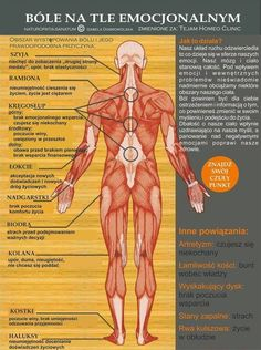 This Emotional Pain Chart Shows You Where Your Negative Emotions Manifest On Your Body. Holistic Health Tips for Beginners, Pain Relief Health And Wellness, Health Tips, Health Fitness, Mental Health, Health Chart, Health Exercise, Fitness Tips, Fitness Motivation, Health Anxiety