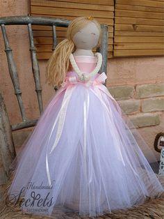 Fairy Decoration Fairy Statue Fairy Doll Pink Fairy Fairy
