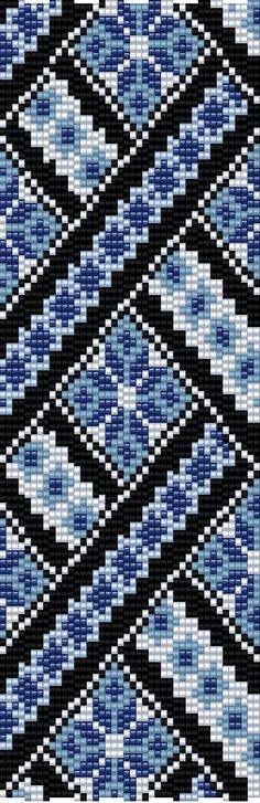 This Miyuki Delica Bead Loom & 4 drop Peyote Patterns are designed for Size 11 Beads. Width: / 42 columns Length: / 100 rows Colors: 5 Technique: Loom Technique: even peyote stitch You can also choose other colours according to your Bead Loom Bracelets, Beaded Bracelet Patterns, Bead Loom Patterns, Peyote Patterns, Jewelry Patterns, Beading Patterns, Cross Stitch Patterns, Mochila Crochet, Drops Patterns