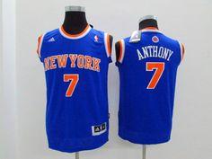 NBA Youth #7 blue jersey