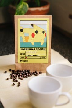 Download 13 Pokemon Coffee Labels And Brew 'Em All!