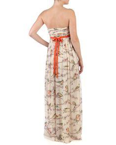 FLORAH - Printed maxi dress