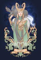 House of Loki: Lady Loki by Medusa-Dollmaker