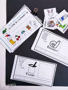 Pour apprendre à écrire les lettres de l'alphabet en capitales d'imprimerie et appréhender la lecture, Momes a conçu ce petit livre de l'alphabet que les enfants vont prendre plaisir à s'approprier !