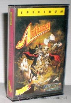 Artura [Gremlin Graphics] 1989 - Erbe Software [ZX Spectrum] Software, Gremlins, Retro, Spectrum, Graphics, Cover, Shopping, Direct Sales, Videogames