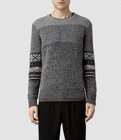 2014 [All Saints] Mens Mikasa Crew Sweater