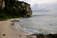 looking out at Two Lover's Point, Guam